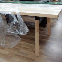 원목테이블 2000x900 사무실책상 회의실테이블